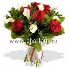 Бизнес букеты из розы фото #5